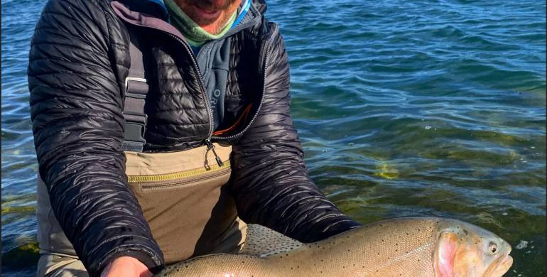 Pyramid Lake Fishing Report January 3 2020